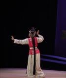 """ del oeste de Chamber†del pelo del vestido-Kunqu del """"the largo de la ópera fotografía de archivo"""
