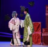 """ del oeste de Chamber†del """"the relativo-Kunqu de la ópera de cuatro ojos imagen de archivo"""