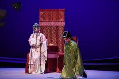 """ del oeste de petición-Kunqu de Chamber†del """"the de la ópera de la genuflexión fotos de archivo libres de regalías"""