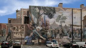 ` Del orgullo y del progreso del ` de Ann Northrup, Philadelphia, Pennsylvania imagen de archivo libre de regalías