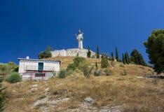 Del Otero Cristo в Pelencia, Испании Стоковая Фотография RF