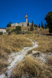 Del Otero di Cristo in Pelencia, Spagna Immagini Stock Libere da Diritti