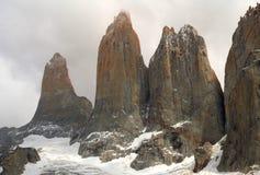 del paine torres στοκ εικόνα
