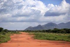 Del parque de Tsavo nacional al este Imágenes de archivo libres de regalías