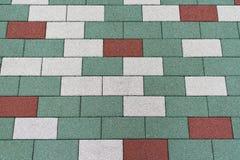 Del pavimento placas de piso al aire libre Fotografía de archivo