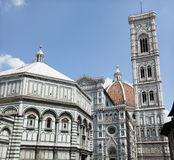 del piazza Duomo Florence Italy obrazy stock