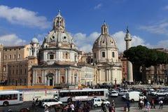 del piazza popolo rome Fotografering för Bildbyråer