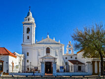 Del Pilar Church de Nuestra Señora em Buenos Aires, Argentina Imagem de Stock Royalty Free