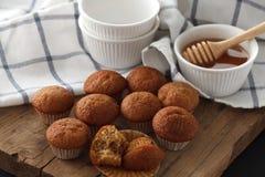Del plátano de la torta y de la miel de los pasteles todavía del postre primer dulce de la vida Imagen de archivo libre de regalías