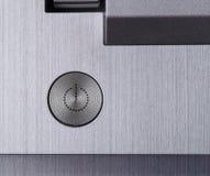 Del poder botón apagado Imágenes de archivo libres de regalías