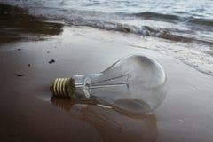 Del poder lámpara apagado Fotos de archivo
