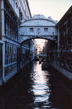 del ponte sospiri venezia Zdjęcie Royalty Free