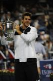 Del Potro champion of US Open 2009 (44) Stock Image