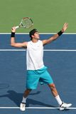 Del Potro: Tennis Player Overhead Stock Photography