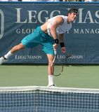 Del Potro: Tennis Player Serve Stock Photo