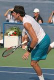 Del Potro: Tennis Player Serve Royalty Free Stock Images
