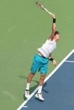 Del Potro: Tennis Player Serve Stock Photography