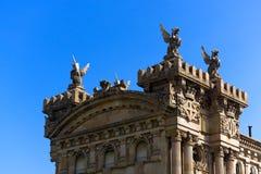 Del Puerto de Barcelona - España de Aduana Fotografía de archivo libre de regalías