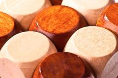Del puzzle di legno 3D Fotografia Stock