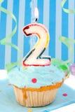 Del ragazzo compleanno in secondo luogo Immagini Stock