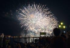 del redentore Festa Italy Venice Zdjęcie Stock