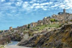 Del Rey Catolico, Saragozza, l'Aragona, Spagna di SOS fotografia stock libera da diritti