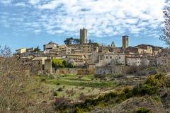 Del Rey Catolico, Saragozza, l'Aragona, Spagna di SOS fotografia stock