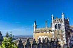 Del Rio Castle, Cordova, Andalusia, Spagna di Almodovar fotografie stock