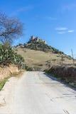 Del Rio Castle, Cordova, Andalusia, Spagna di Almodovar immagini stock libere da diritti