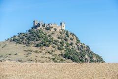Del Rio Castle, Cordova, Andalusia, Spagna di Almodovar fotografie stock libere da diritti
