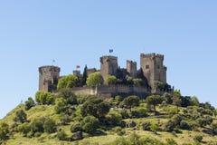 Del Rio di Castillo de Almodovar Immagine Stock