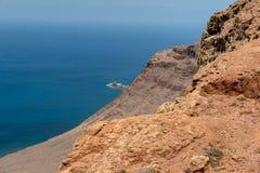 Del Rio, isole Canarie di Mirador di Lanzarote Fotografie Stock