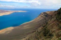 Del Rio View 004 di Lanzarote Mirador Fotografia Stock