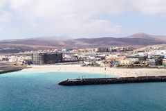 Del Rosario Фуэртевентура Puerto Стоковое Изображение RF