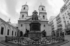 Del Rosario Basilic, Буэнос-Айрес Nuestra Señora, Аргентина стоковое изображение