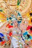 Del Rosario de Puerto, Spain, carnaval imagem de stock