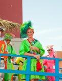 Del Rosario de Puerto, Spain, carnaval imagens de stock royalty free