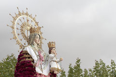 Del Rosario do Virgin em Torrejon de Ardoz Fotografia de Stock Royalty Free