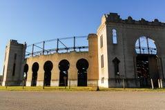 Del Sacramento, Urug de la plaza de toros Real de San Carlos - de Colonia foto de archivo libre de regalías
