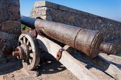 Del Sacramento Uruguai di Colonia del cannone Fotografia Stock Libera da Diritti
