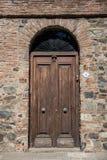 Del Sacramento, Uurguay, puerta de Colonia del vintage, viajando al sur A fotos de archivo