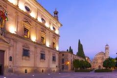 Del Salvador de Capilla, Ubeda, Andalucia, Espanha fotografia de stock royalty free