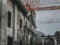 Del santo för Cebu stadsbasilika nino arkivfoto