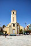 Del Segura, Spagna di Guardamar - 26 giugno 2016: St James la chiesa di parrocchia dell'apostolo Fotografia Stock