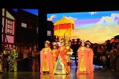  del show†de los escenarios de la escala de Tang Princess Wencheng-Large el  del legend†del camino Fotos de archivo libres de regalías