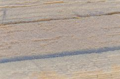 Del tablero se cubre con nieve Imagenes de archivo
