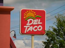 Del Taco foto de stock royalty free