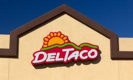 Del Taco Restaurant Immagine Stock Libera da Diritti