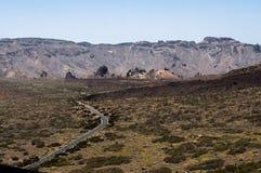 Del Teide immagini stock libere da diritti