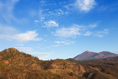 del teide Pico Fotografia Royalty Free